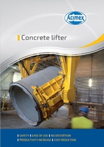 Concrete lifter miniature
