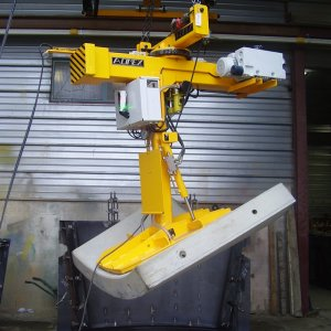 ACIMEX tunnel segment demoulder / turning lifter