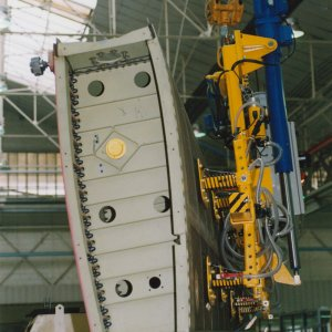 ACIMEX lifting beam for aircraft parts
